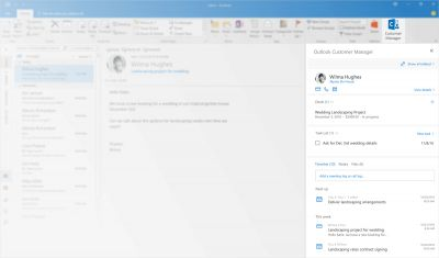 The latest Office 365 service will make it easy to keep track of your customers