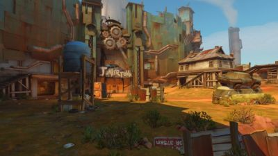 New Overwatch Map Junkertown Announced