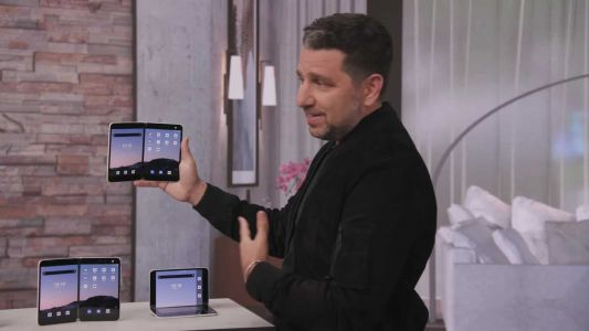 Microsoft Surface Duo Foldable Gets Detailed In Official Video