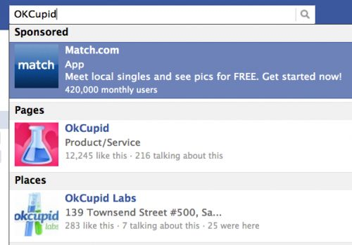 Facebook relaunches search ads to offset slowing revenue