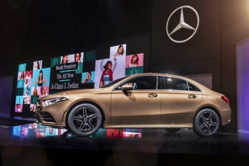 Mercedes' A-Class L Sedan gives China preview of luxe 4-door
