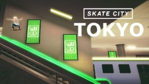 Tokyo is coming to Skate City for Apple Arcade