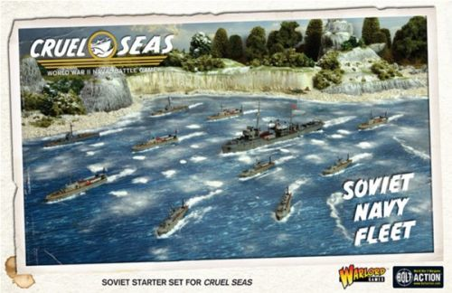 Warlord Games Previews Soveity and Italian Fleets for Cruel Seas