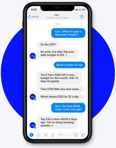 Cleo, the 'digital assistant' that replaces your banking apps, picks up $10M Series A led by Balderton
