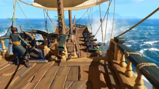Another Sea of Thieves server test takes place this weekend