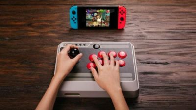 8Bitdo Will Release an Arcade Stick for Nintendo Switch on August 20