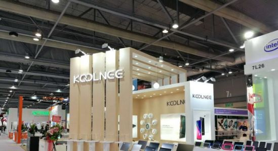 Mysterious KOOLNEE K7 Eye-Grabber Shown Off at Global Sources Mobile Electronics