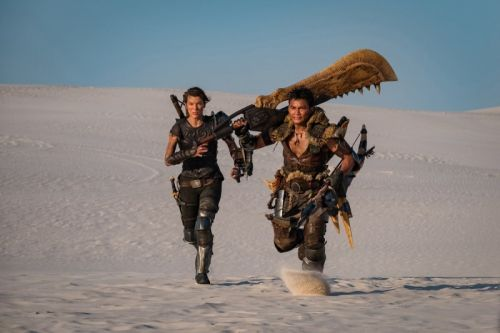 First Image Of Monster Hunter Movie's Actual Hunters