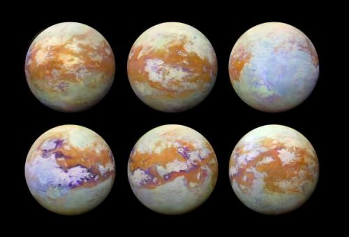 Saturn's moon Titan looks absolutely incredible in new infrared images