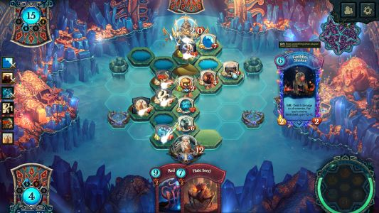 Free-to-play card strategy game Faeria goes buy-to-play today