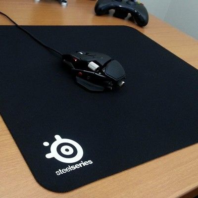 The SteelSeries QcK+ gaming pad has dropped to less than $11