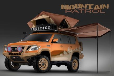 Nissan is using social media to create a tricked-out overlanding vehicle