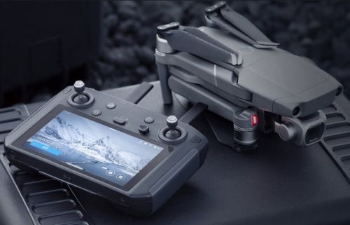 The DJI Smart Controller only supports the Mavic 2 drone