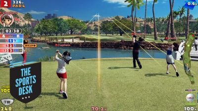 The Sports Desk - Everybody's Golf Beta Reaction, PES Mobile & NBA Live 18