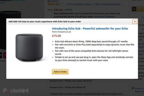 Amazon leak reveals upcoming Echo subwoofer and smart plug