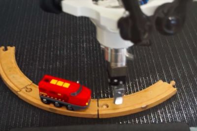 I wish this toy train stuck on an infinite loop weren't such an obvious metaphor