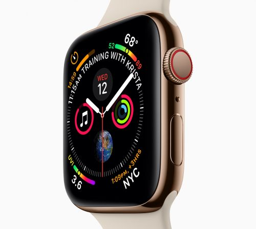 Apple Watch Series 4 official with larger display