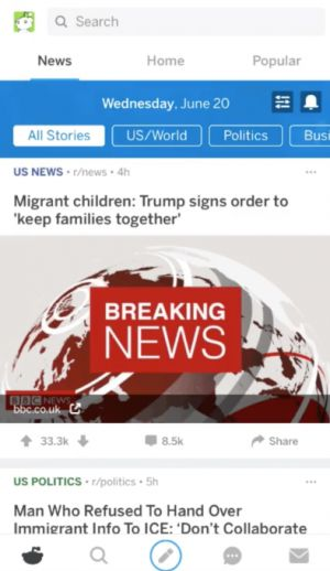 Reddit launches a 'News' tab into beta testing