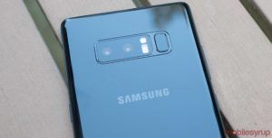 Samsung Galaxy Note 8 camera: Blurring the line