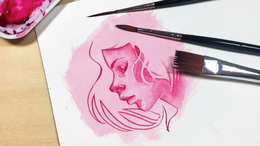 A beginner's guide to watercolour brush techniques