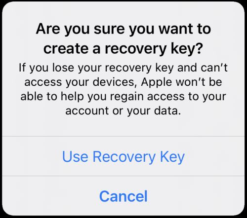 What you should know about iOS 15 recovery keys