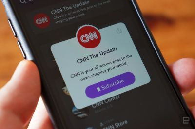CNN is the latest to make a daily news show for Snapchat
