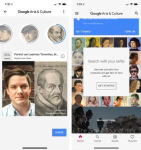 Google's Arts and Culture face-matching app is now available in Canada