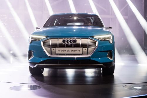 Audi's first electric car reportedly delayed again because of a battery shortage