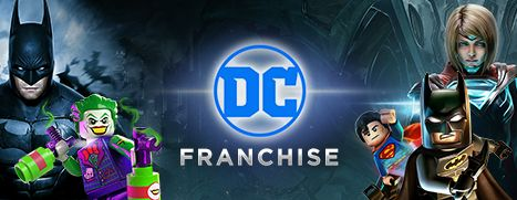 Daily Deal - DC Franchise Sale, Up To 75% Off