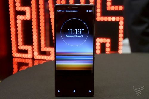 Sony's super tall Xperia 1 flagship will be available on July 12th for $949