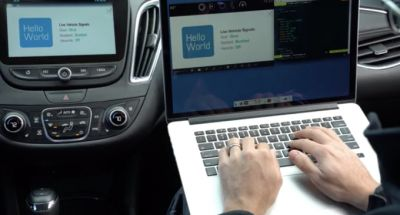 GM now lets developers test their in-car apps running in actual cars