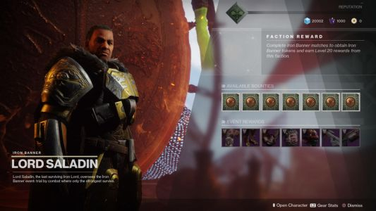 Destiny 2's Iron Banner Event Returns, But With A Few Changes
