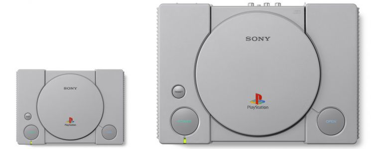 Sony Reveals PlayStation Classic Mini Console, Includes 20 PS1 Games