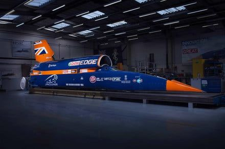 Bloodhound's plan to build a 1,000-mph car has run out of gas