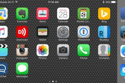 How to turn off landscape mode on the iPhone 6/6s Plus and iPhone 7 Plus home screen