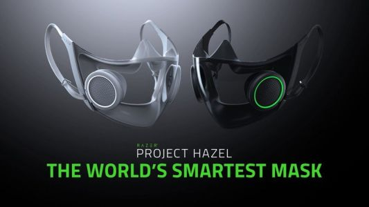 Razer's crazy cool RGB smart face mask concept will become a real product