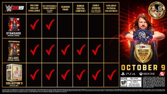WWE 2K19: Release Date / Pre-Order Guide For PS4, Xbox One, PC In The US