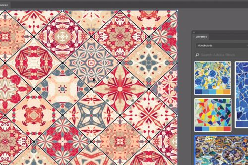 Adobe Illustrator's latest experimental feature lets you emulate your mood boards