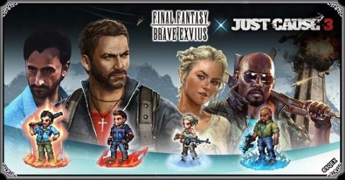 Rico Rodriguez Joins Final Fantasy Brave Exvius In Just Cause 3-Themed Event