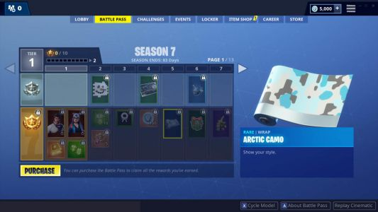 Fortnite Season 7 Wraps Are Like Skins For Your Guns And Vehicles