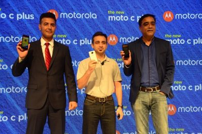 Moto C Plus with 4000mAh battery debuts in India for ₹6,999