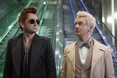 Good Omens protesters demand show be removed from completely wrong company