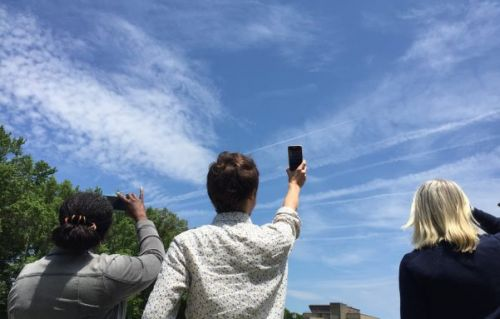 NASA asks public to share cloud photos to help confirm satellite data