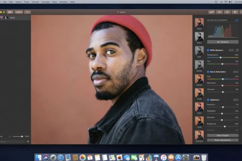 Pixelmator Pro adds support for iPhone Portrait Mode depth masks