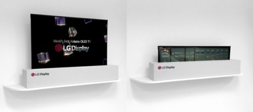 LG will make OLED TVs will roll up like posters a reality in 2019