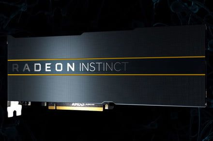 AMD's impressive Vega 7nm graphics cards arrive, but they're not for gaming