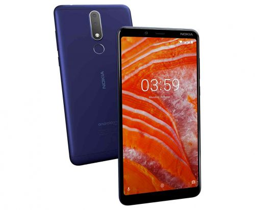 Nokia 3.1 Plus official with 6-inch display, aluminum shell, and 2-day battery life