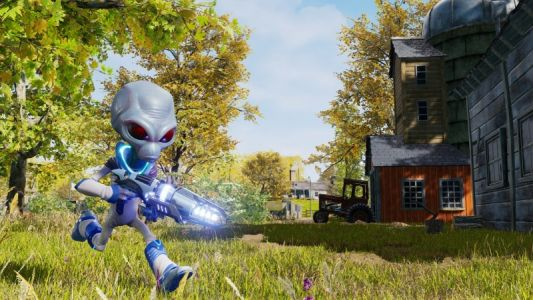 Kick Off The Weekend With This Destroy All Humans! Trailer