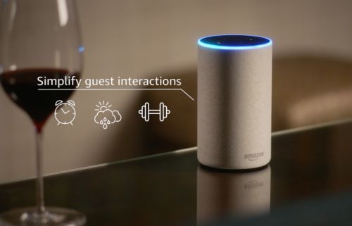 Amazon launches an Alexa system for hotels