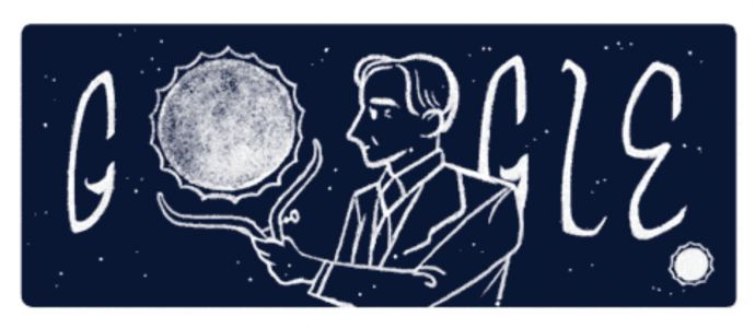 Google honors the man who discovered the fate of dead stars